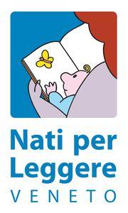 Logo dell'iniziativa Nati per Leggere - il logo è stato realizzato da Francesco Tullio Altan